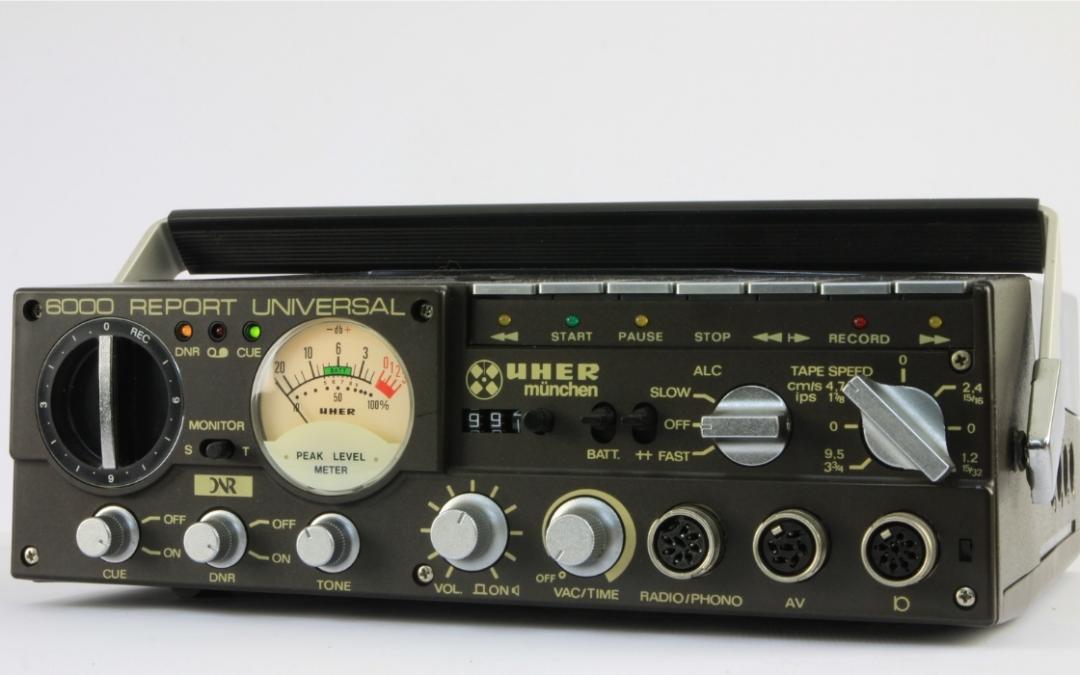 1985 Uher Report Universal 6000