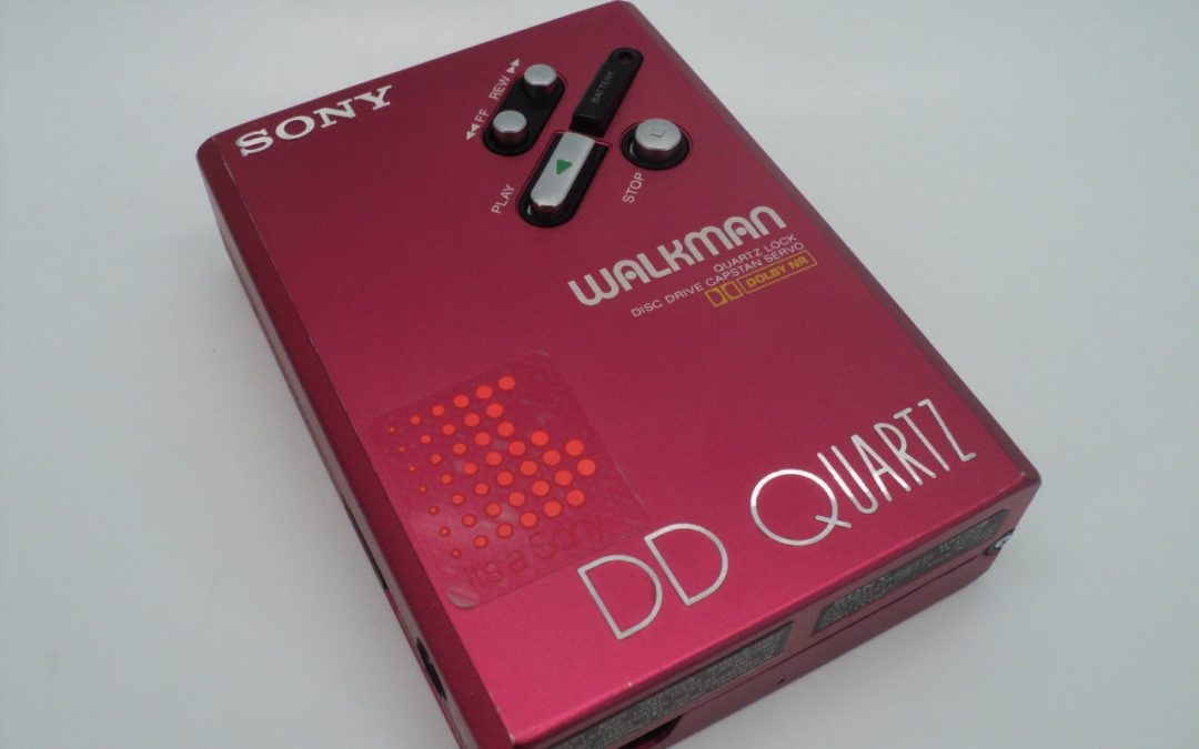 1987 Sony Walkman Stereo Cassette Player DD Quartz WM-DDIII