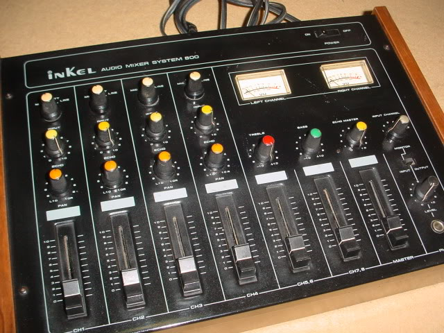 1988 Inkel audio mixer system 800