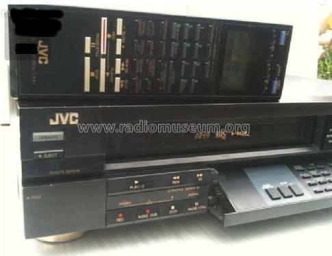 1988 JVC VHS Hi-Fi Stereo Video Cassette Recorder HR-D530e