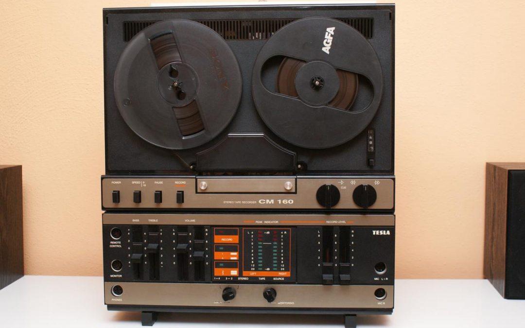 1988 Tesla Stereo Tape Recorder CM 160-APN 274