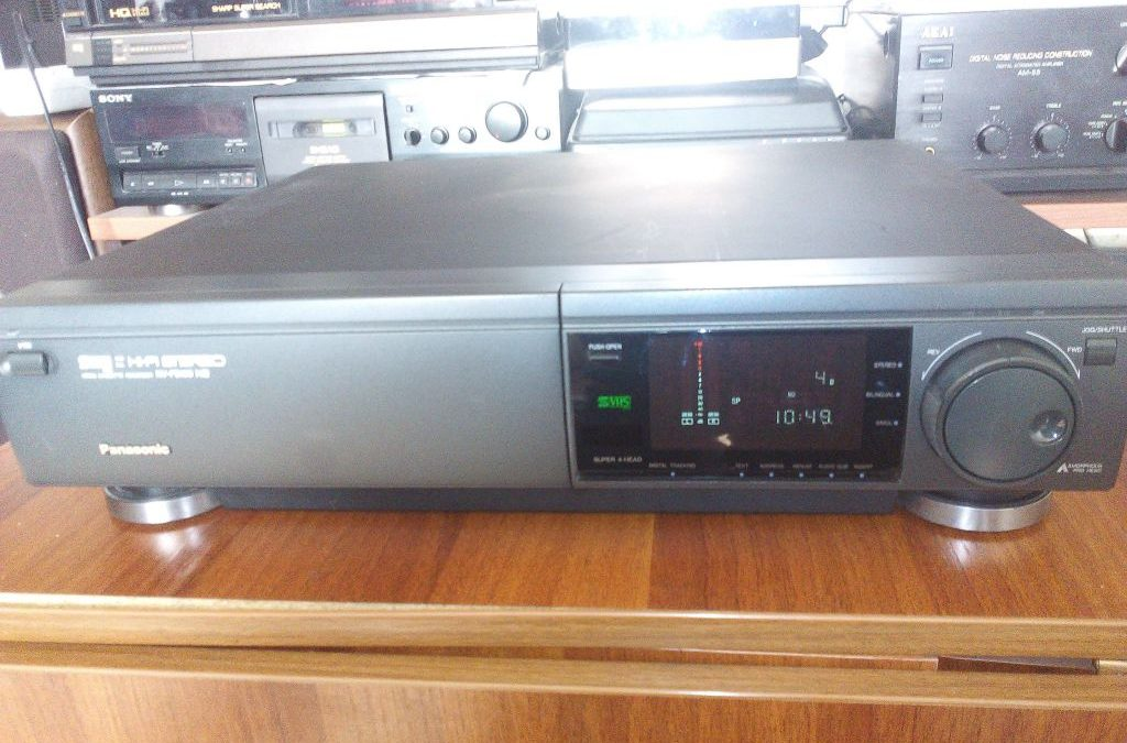 1989 Panasonic SVHS HiFi Stereo Video Cassette Recorder NV-FS100 HQ