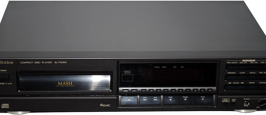 1991 Technics Compact Disc Player SL-PG300