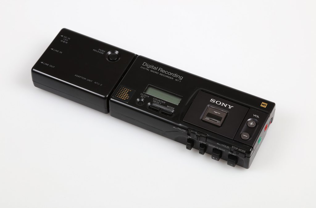 1992 Sony Digital Micro Recorder NT-1