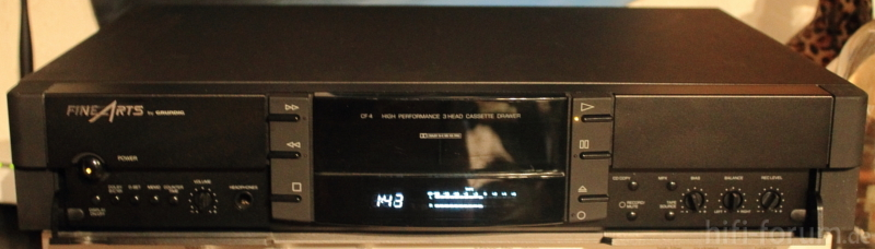 1993 Grundig FineArts High Performance 3Head Cassette Drewer CF4