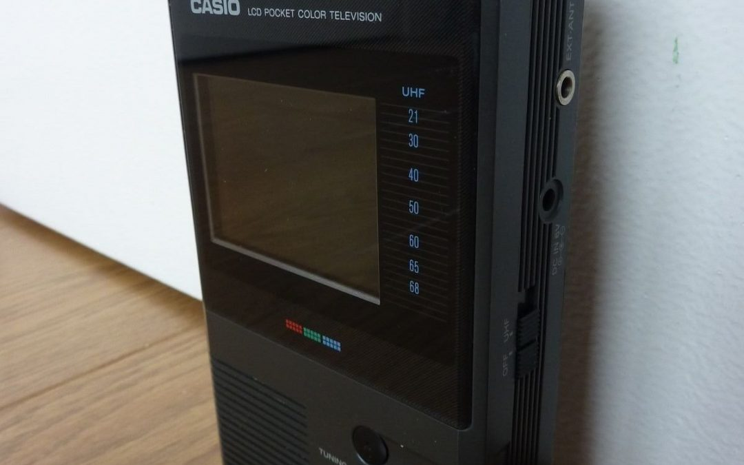 1994 Casio LCD Pocket Color Television TV-1400