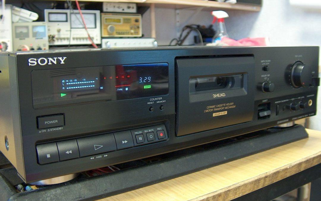 1994 Sony Stereo Cassette Recorder TC-K515s
