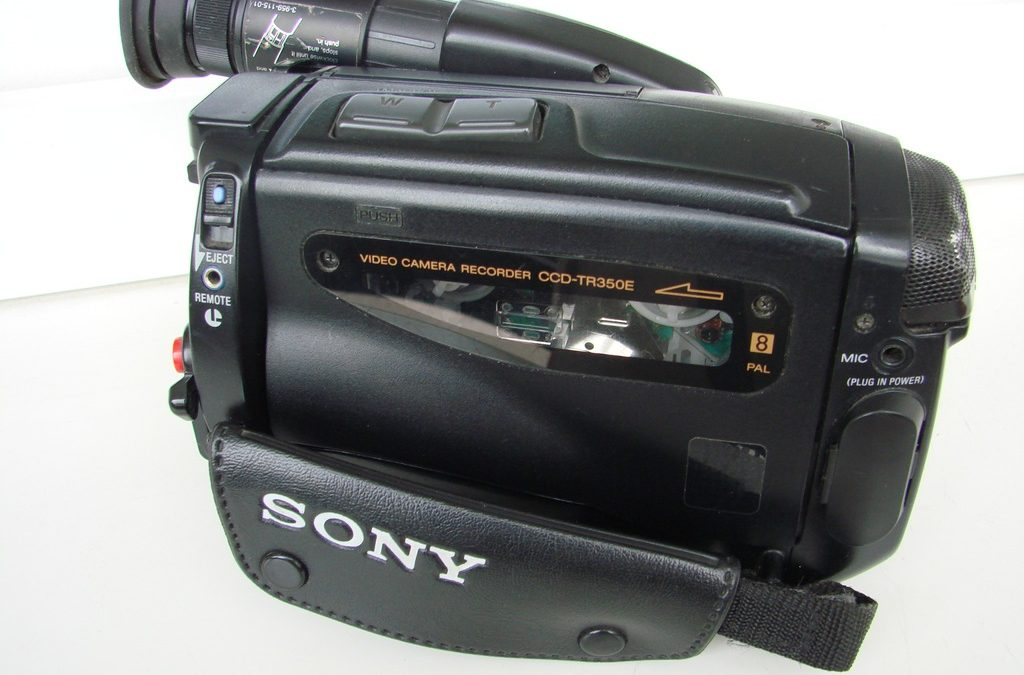 1994 Sony Video8 Video Camera Recorder CCD-TR350E