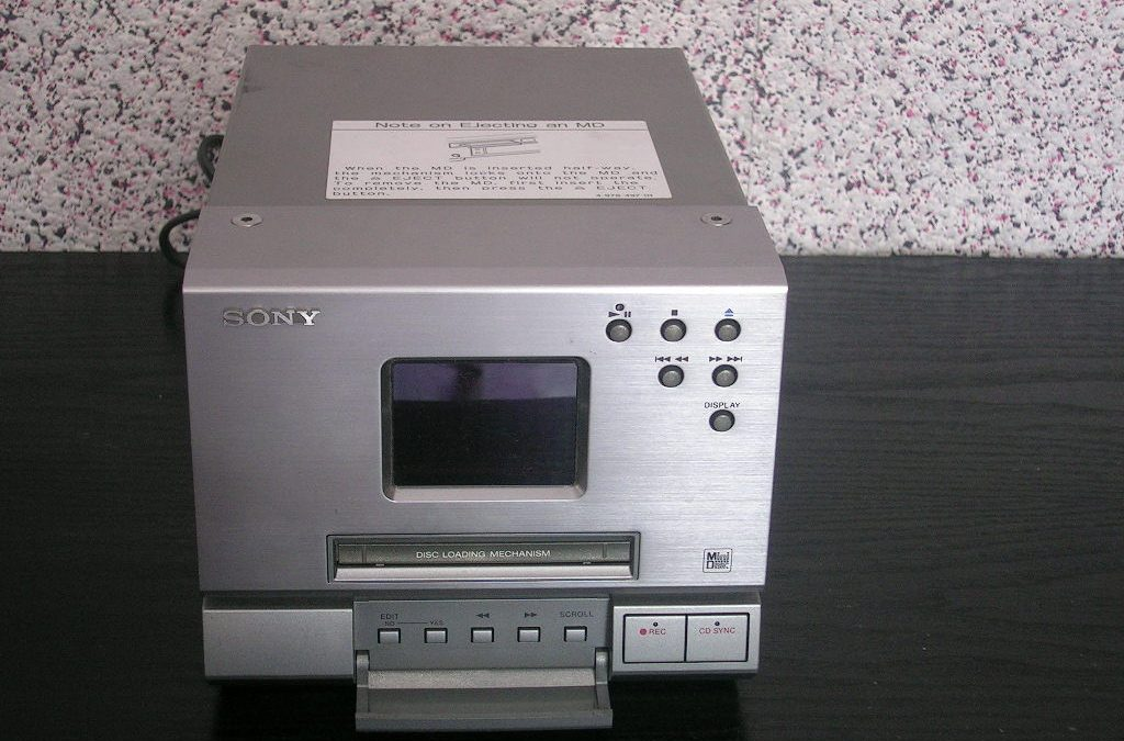 1995 Sony Compact Component System Stereo MiniDisc Deck MDS-MX1