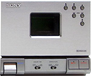 1995 Sony Compact Component System Stereo Cassette Deck TC-TX1