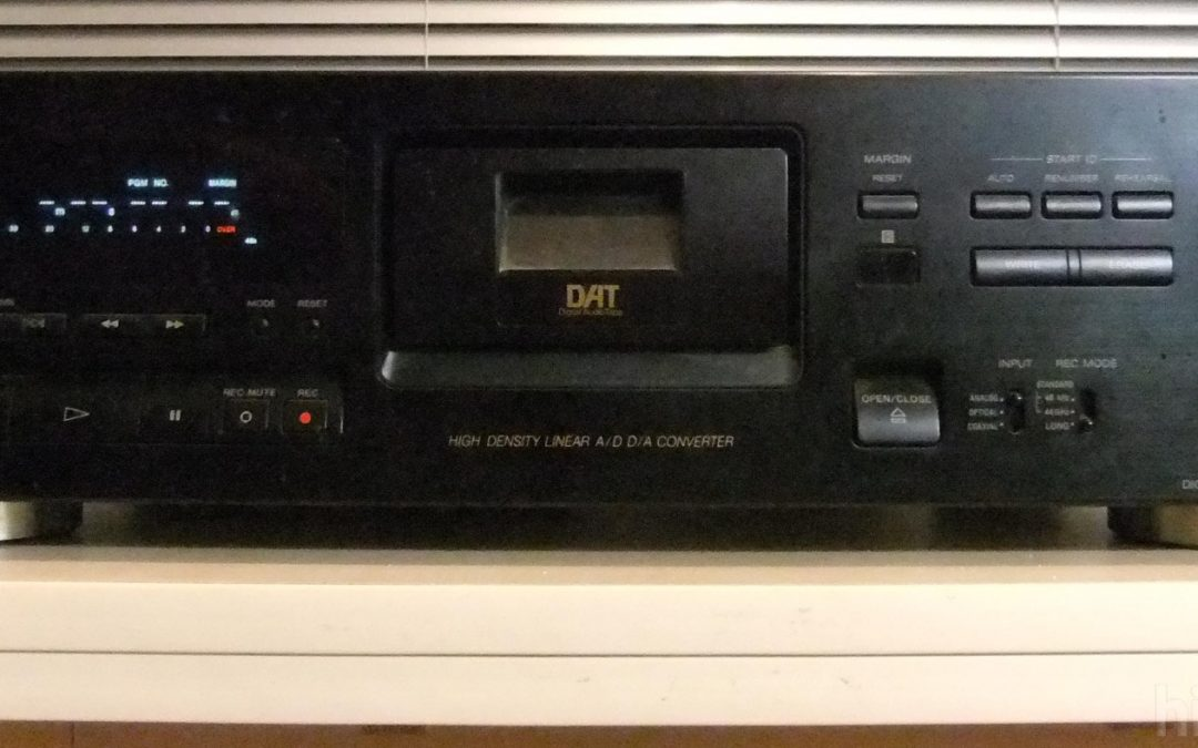 1995 Sony Digital Audio Tape Deck DTC-790