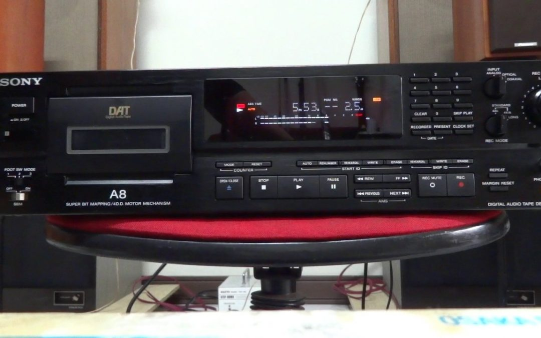 1995 Sony Digital Audio Tape Deck DTC-A8