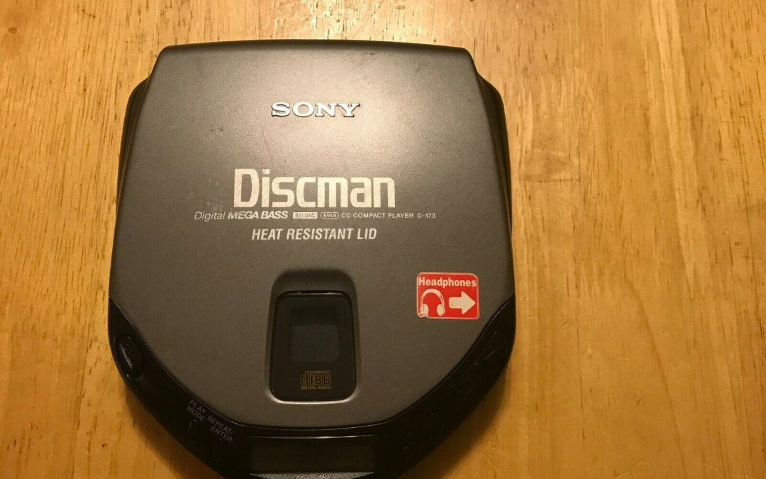 1996 Sony Compact Disc Compact Player Discman D-173