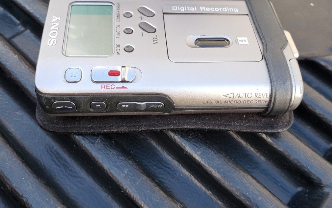 1996 Sony Digital Micro Recorder NT-2