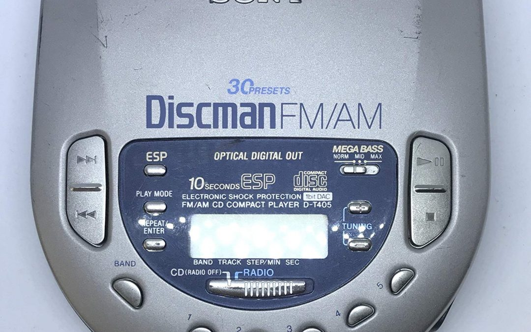 1997 Sony FM/AM Compact Disc Compact Player D-T405