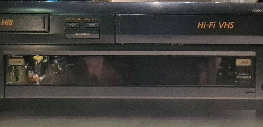 1997 Sony VHS Hi-8 HiFi Video Recorder SLV-T2000