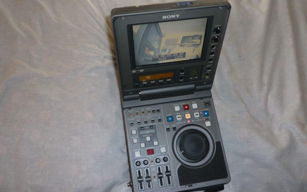 1998 Sony Digital Videocassette Recorder DSR-70P