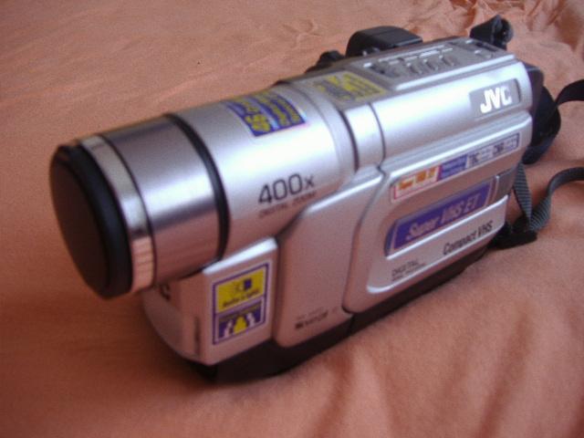 2000 JVC Compact SVHS Camcorder GR-SX22E
