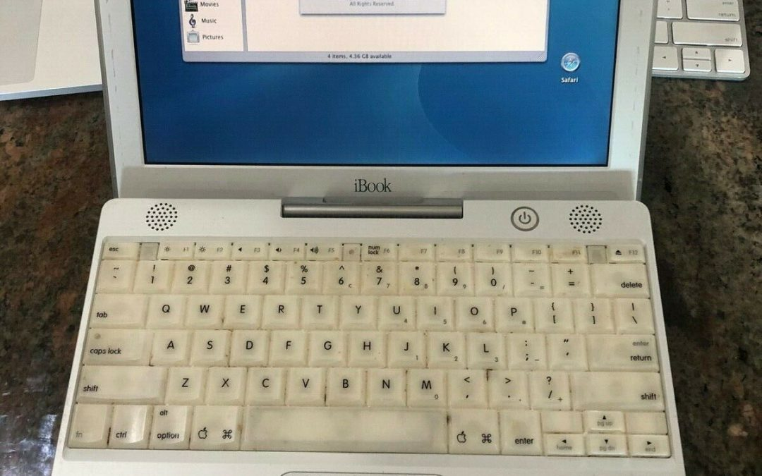 2001 Apple iBook M6497