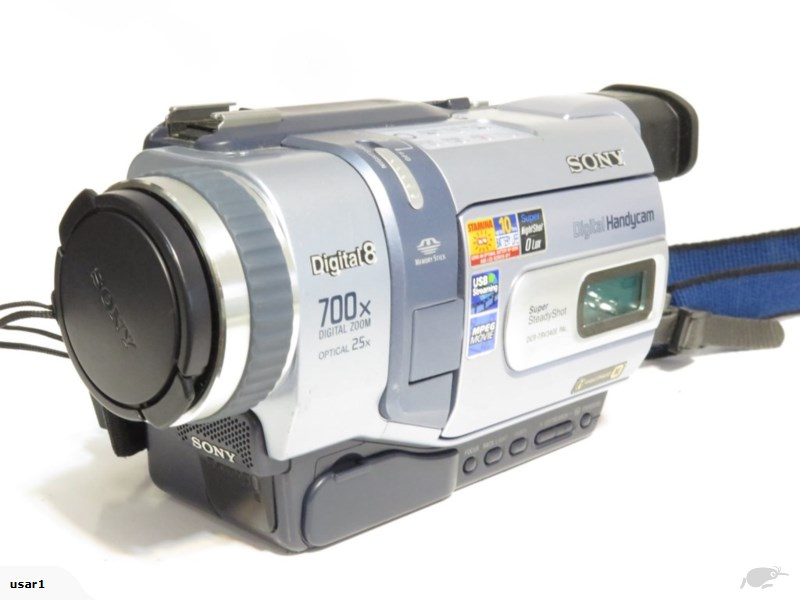 2001 Sony Digital 8 Video Camera Recorder DCR-TRV340E