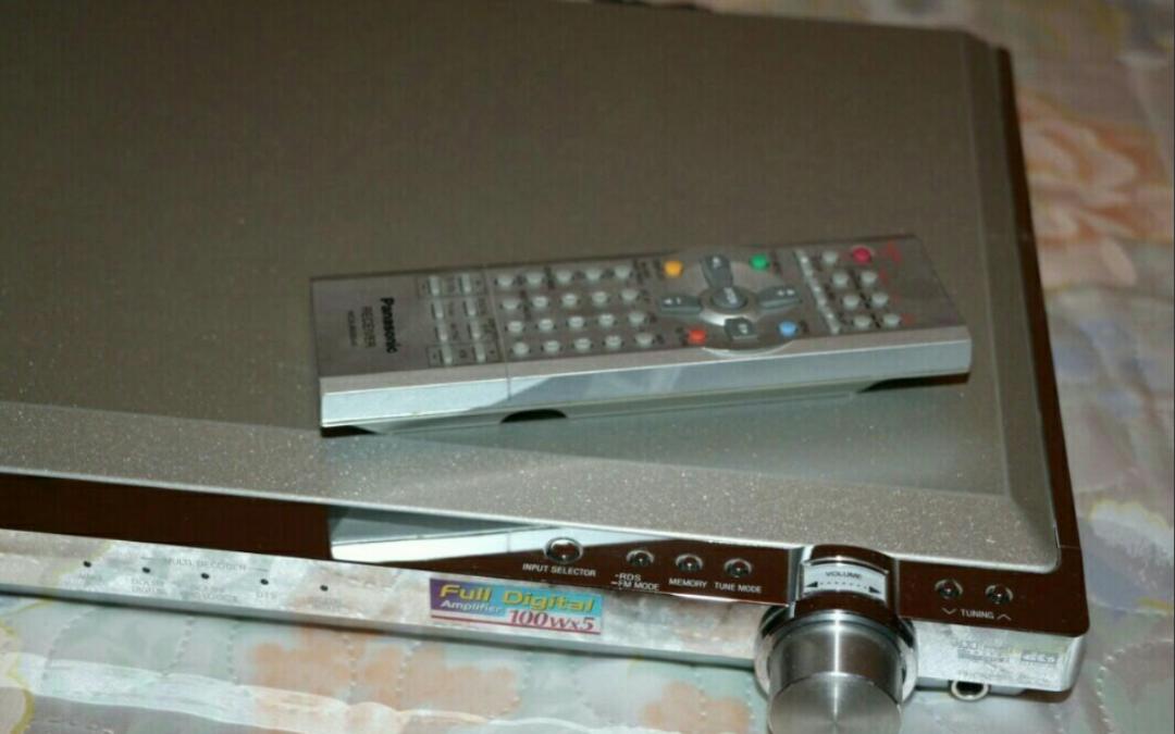 2002 Panasonic AV Control Stereo Receiver SA-XR10