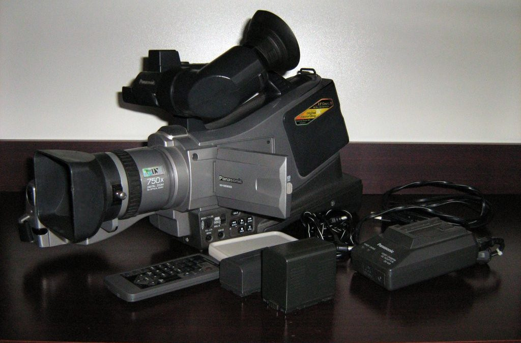 2002 Panasonic Digital Video Camera/Recorder NV-MD9000
