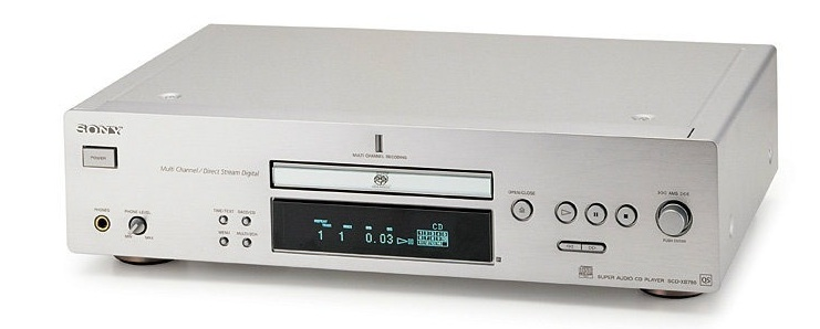 2002 Sony Super Audio CD SCD-XB780 QS