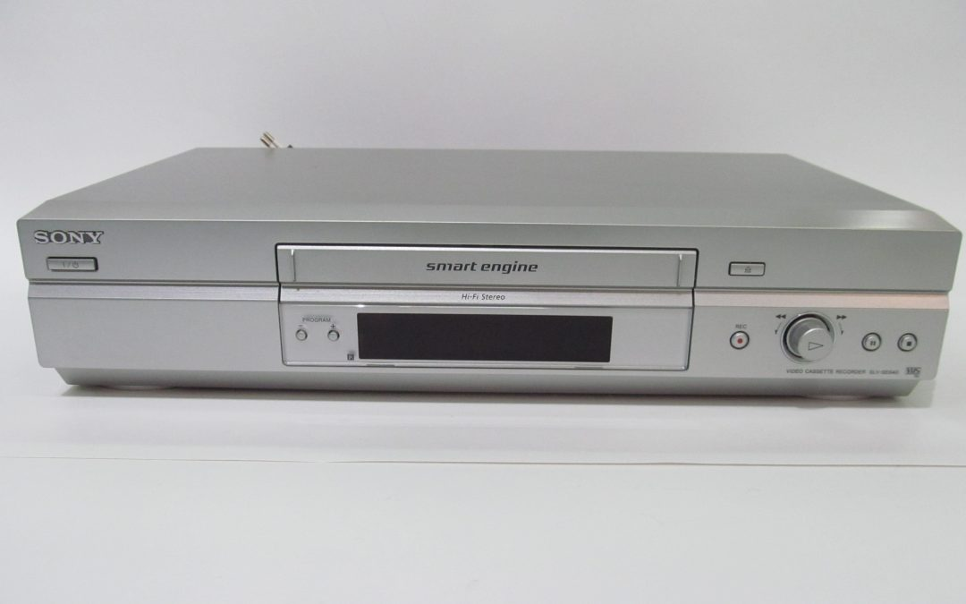2004 Sony Hi-Fi Stereo Video Cassette Recorder SLV-SE640