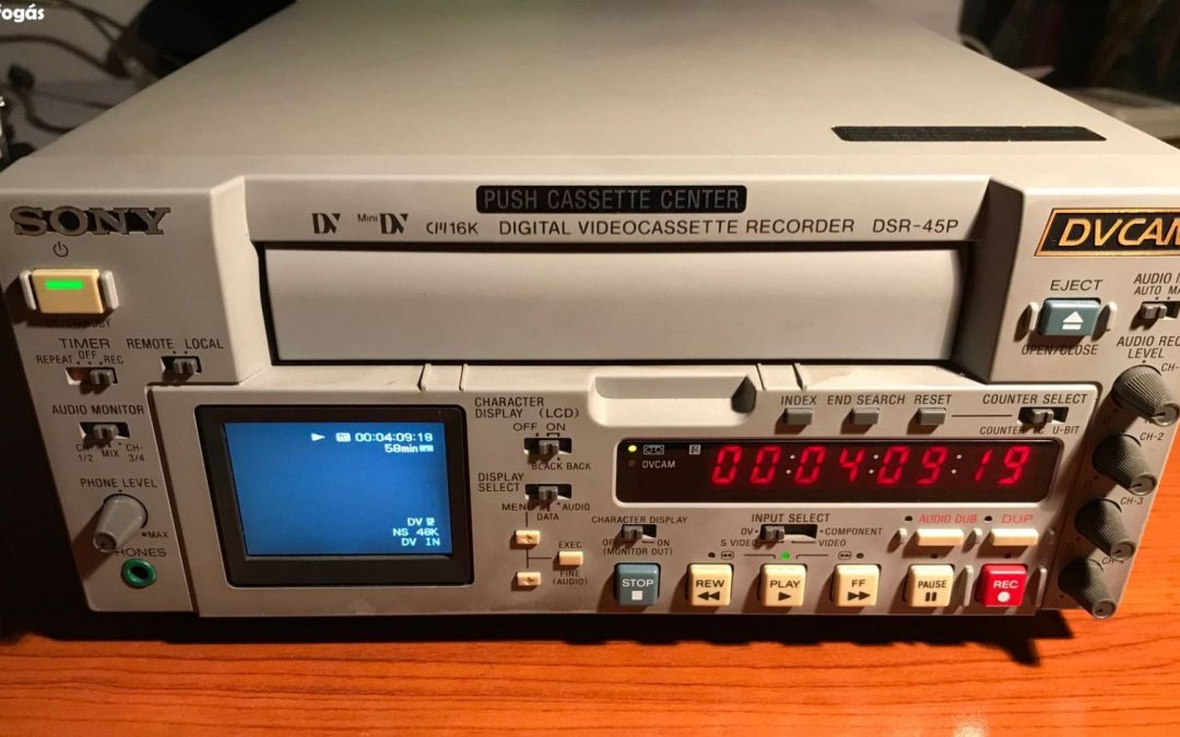 2005 Sony Digital Videocassette Recorder DSR-45A