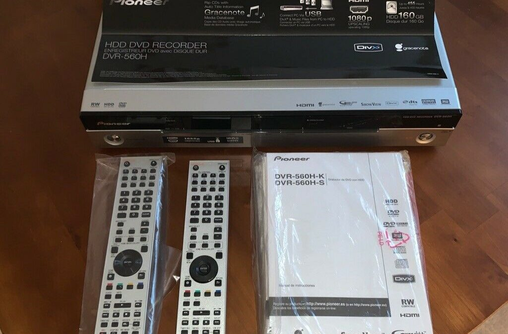 2008 Pioneer HDD/DVD Recorder DVR-560H-S