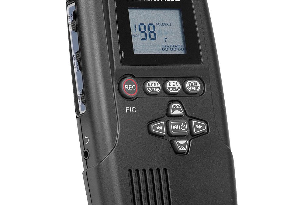 2009 American Audio Pocket Record SD Digital Recorder