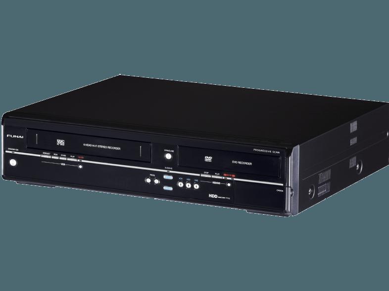 2010 Funai Hdd & Dvd/Video Recorder TD6D-M100